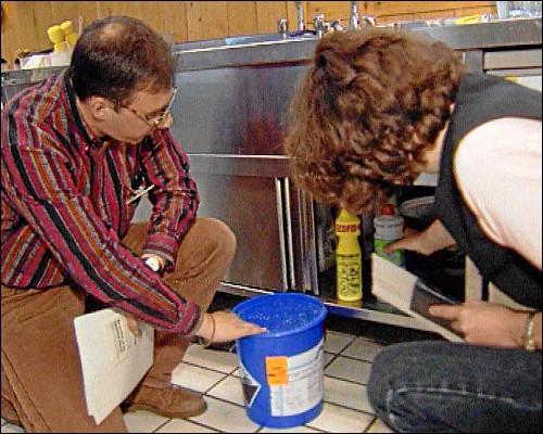 Umweltcheck in der städtischen Einrichtung Seniorentreff Bleiweiß