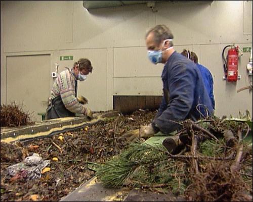 Müllsortierungsanlage