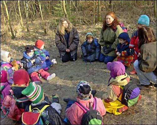 Bestimmte Themen werden in der Gruppe intensiv besprochen