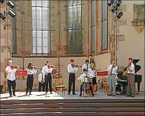 Sonntags-Matinee in der Ruine der Nürnberger Katharinenkirche