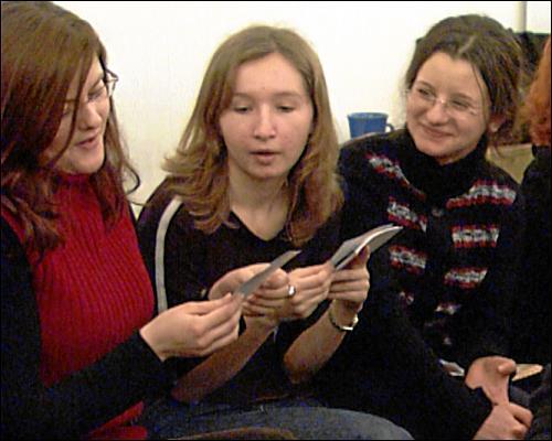 Beim offenen Clubtreff des Vereins für Internationale Jugendarbeit können sich die Au-pairs über ihre Erfahrungen austauschen