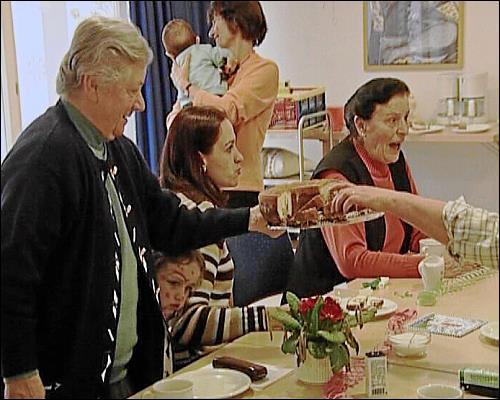 Beim Senioren-Kaffee