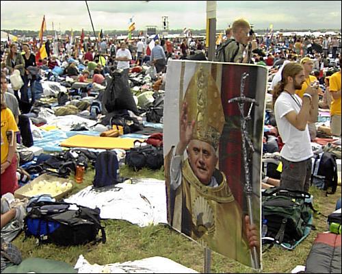Weltjugendtag in Köln - der Papst kommt
