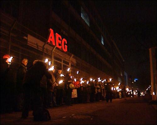 Noch besteht Hoffnung, dass es bei AEG weiter geht