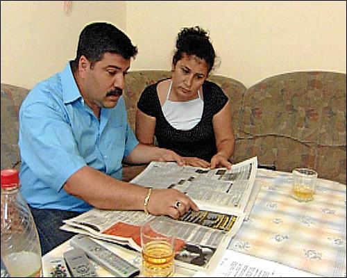 Nizamettin und Durdu Can bei der Stellensuche