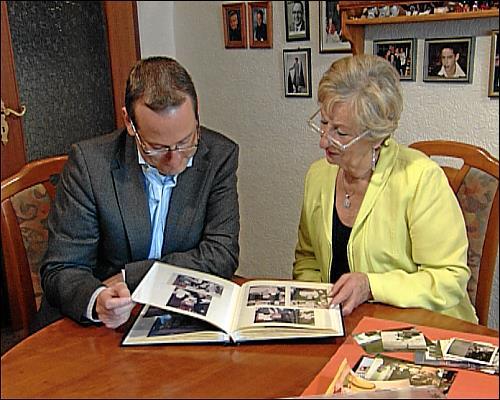 Volker Heißmann mit seiner Mutter