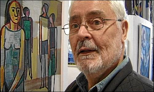 Der Künstler Paul Reutter