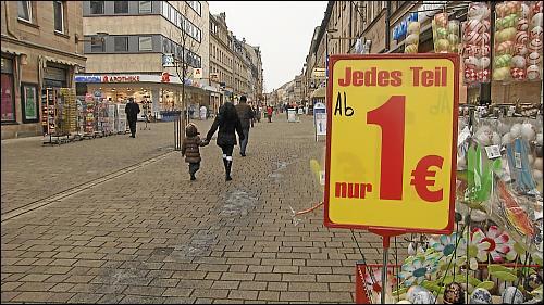 Ein-Euro-Shops und Handy-Läden beherrschen derzeit das Bild der Fürther Fußgängerzone