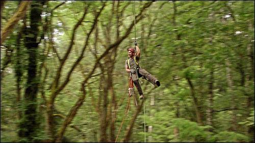 In bis zu 25 Meter Höhe ist nicht nur körperliche Fitness, sondern auch ein klarer Kopf gefordert