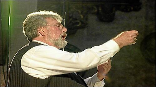 Wolfgang Riedelbauch dirigiert