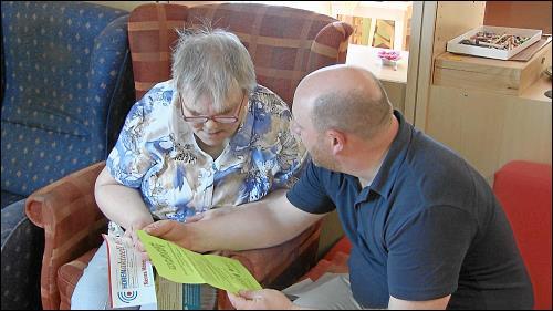 Betreuung in der Lebenshilfe heisst Begleiten und Unterstützen