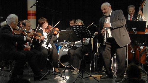 Leonid Khenkin in einem der womöglich letzten Konzerte der »Allstars«
