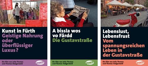 Cover von DVD-Produktionen mit Fürther Themen