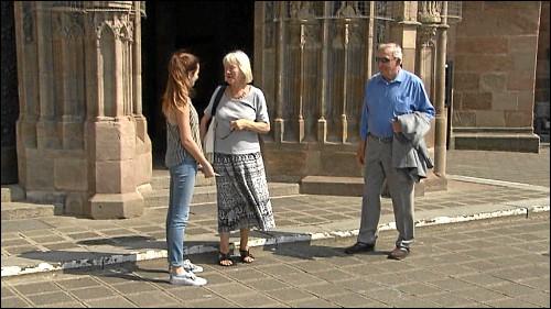In der Nürnberger Fußgängerzone wurden Passanten nach ihrem Wahlverhalten befragt