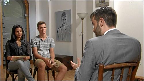 Höhepunkt des Projektes waren die Einzel-Interviews mit Mandatsträgern und Kandidaten für die Bundestagswahl