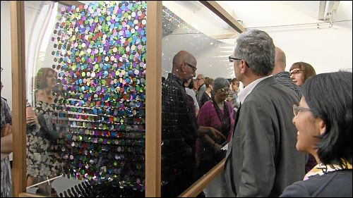 Vernissage der Ausstellung »Vis-a-vis« in der Oechsner Galerie