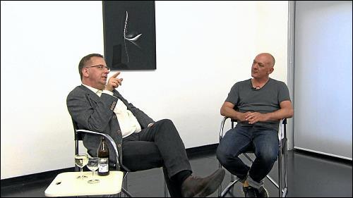 Künstlergespräch mit Dr. Thomas Heyden vom Neuen Museum Nürnberg