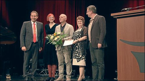 Andreas Oehlert bedeutet es sehr viel, Kulturpreisträger seiner Heimstadt Fürth zu sein