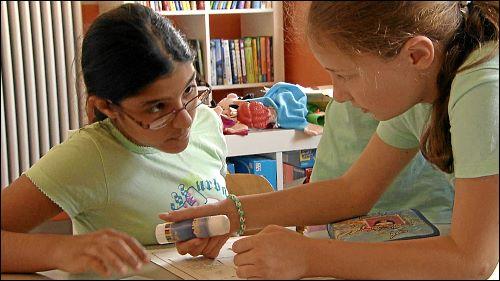 Eine wichtige Rolle beim gemeinsamen Lernen spielen die Paten