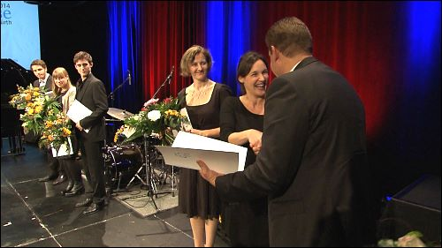 Kathrin Hausel ist Kulturförderpreisträgerin der Stadt Fürth 2014.