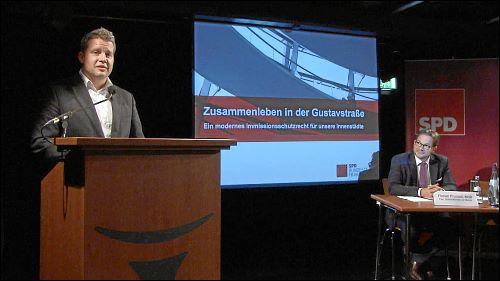 Carsten Träger (am Pult) und Florian Pronold