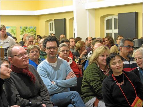 Impressionen vom Premierenabend im Samocca-Café Fürth