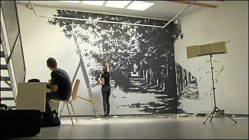 Künstler haben im Galeriehaus Präsentationsmöglichkeiten, die in kommerziellen Galerien eher selten geboten werden.