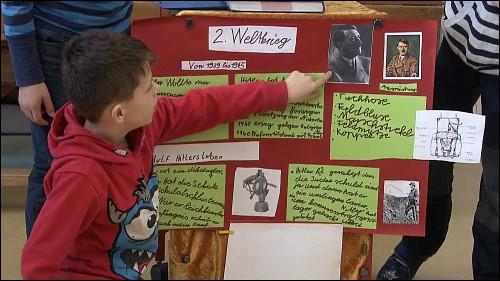Die Kinder schrecken beim selbstständigen Forschen auch nicht vor schwierigen und komplexen Themen zurück.