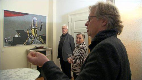 Christian Fritsche erklärt den Gästen, was einen »typischen Hürlimann« auszeichnet