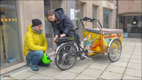 Kostenlose Miet-Lastenräder stellt die Initiative »Lastenrad für Alle« an mittlerweile fünf Standorten in Nürnberg zur Verfügung.