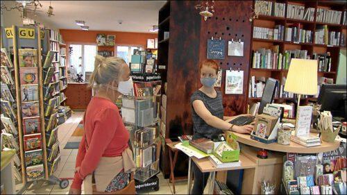 Auch die Buchhandlung Edelmann ist am 27. April in der »neuen Normalität« angekommen. Den während des Lockdown erprobten Lieferservice will man beibehalten.