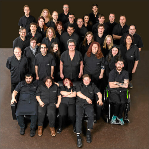 Das Samocca-Team (Foto: Daniel Duve, www.danielduve.com)