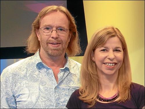 Thomas Steigerwald und Julia Thomas